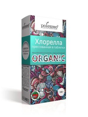 Хлорелла органическая таблетки