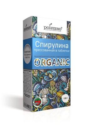 Спирулина органическая таблетки